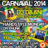Carnavals Yellow Claw!!
