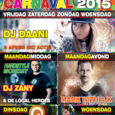 CARNAVAL MAANDAG DJ ZANY & MARK WITH A K